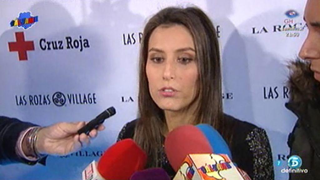 """Ana Boyer, sobre Fernando Verdasco: """"Su apoyo ha sido muy importante para mí"""""""