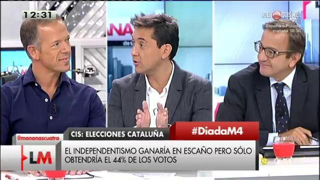 """Ander Gil, sobre las elecciones en Cataluña: """"En las municipales el PSOE es segunda fuerza"""""""