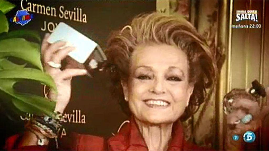 Carmen Sevilla, ¿arruinada?