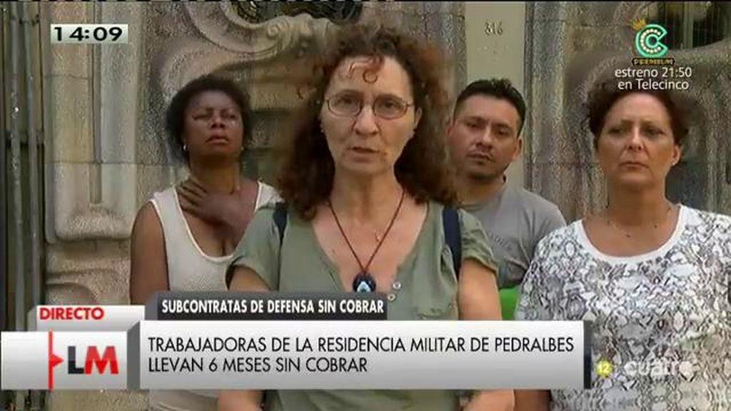 """Silvia: """"Estamos en la ruina"""""""