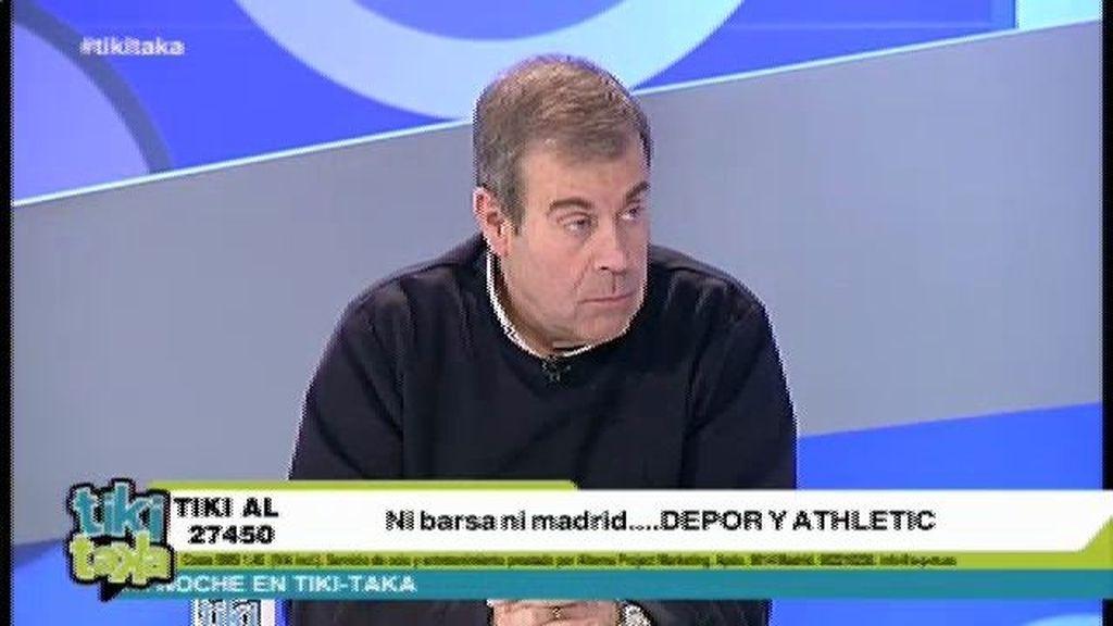 "Tomás Guasch: ""Al Barça le da miedo tener al Madrid tan cerca"""