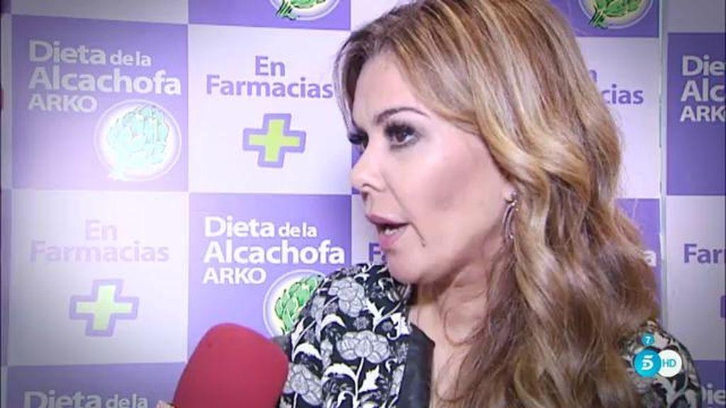 """Mª José Campanario: """"Estoy feliz y contenta, mi marido todavía me hace reír mucho"""""""