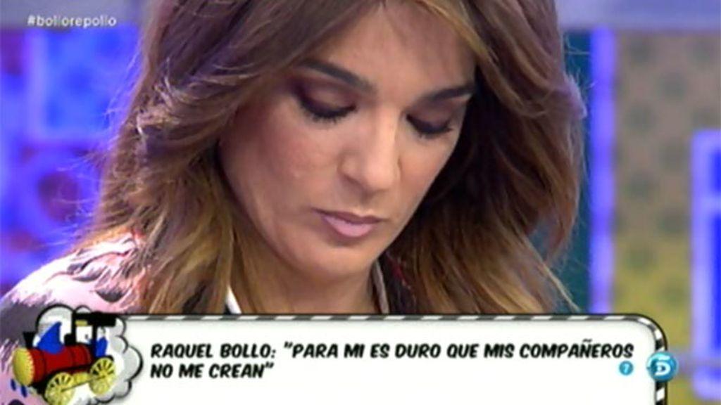 """Raquel Bollo: """"Me pesa más el cariño que me dan mis compañeros que el viernes"""""""