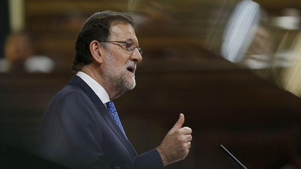 """Rajoy: """"Mantengo mi compromiso de seguir bajando impuestos a los españoles"""""""