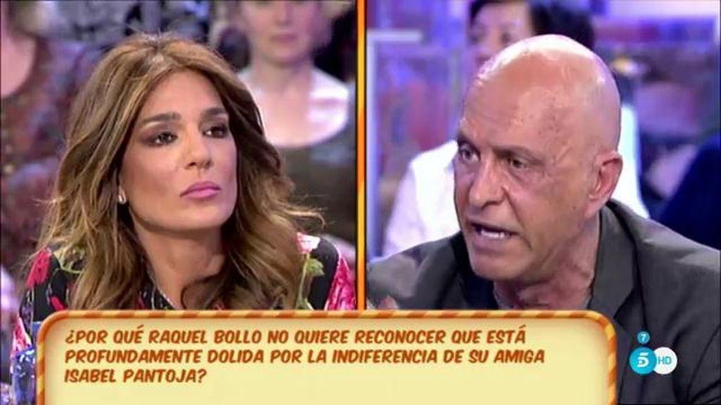 Raquel Bollo sospecha que alguien ha 'malmetido' en su relación con Isabel Pantoja