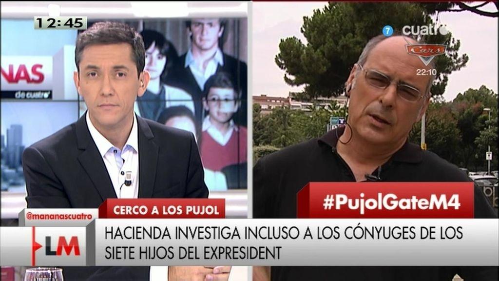 """Jaume Reixach: """"Andorra era un cajero automático para los Pujol"""""""