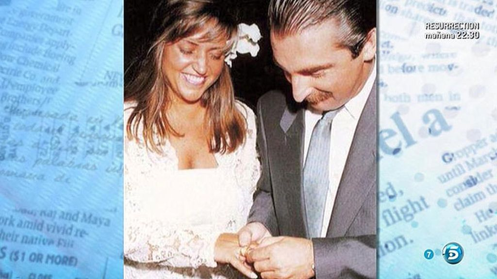 La foto de boda de Lydia y Charly