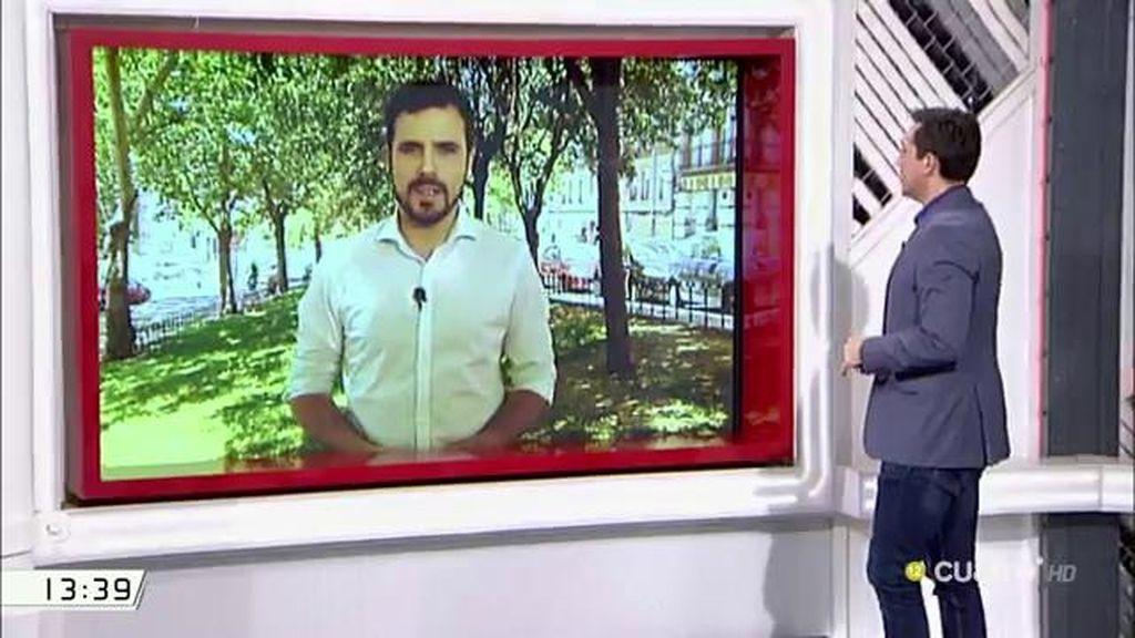 """A. Garzón, sobre el PP: """"Son políticas que vienen de Europa pero son cómplices"""""""