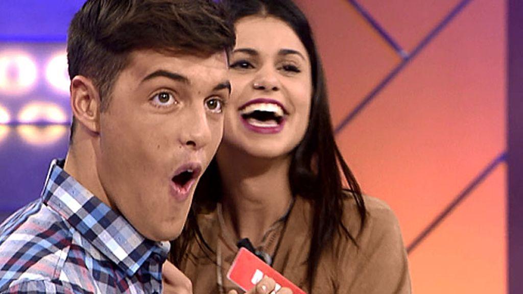 Marina y su gracia dibujan una sonrisa en la cara de Lukas