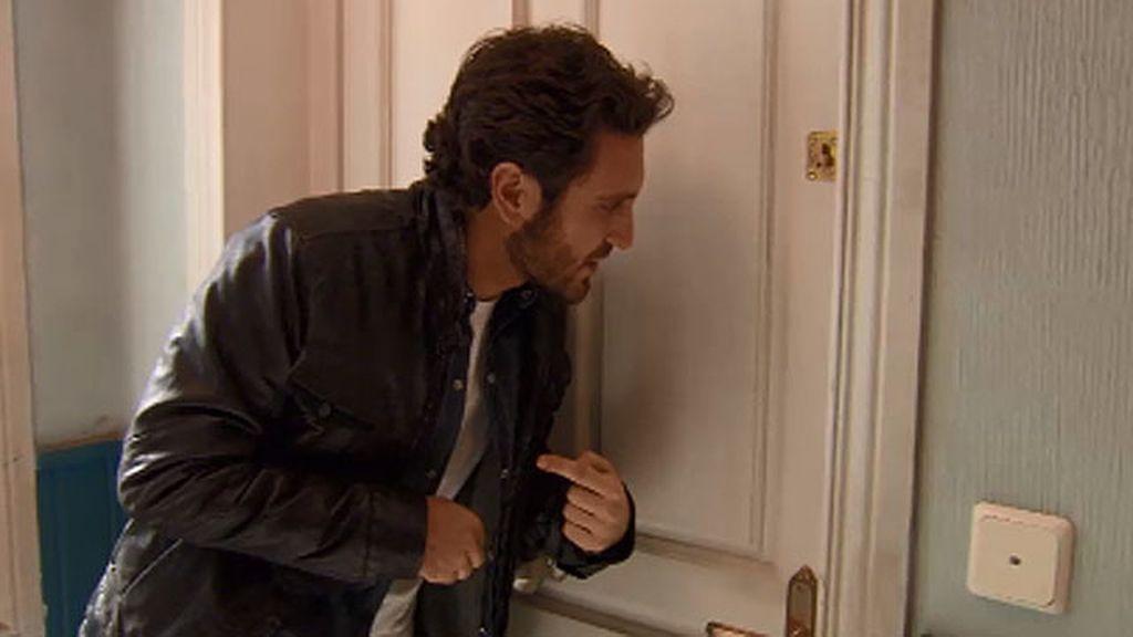 Sergio casi pierde una mano por Lucía