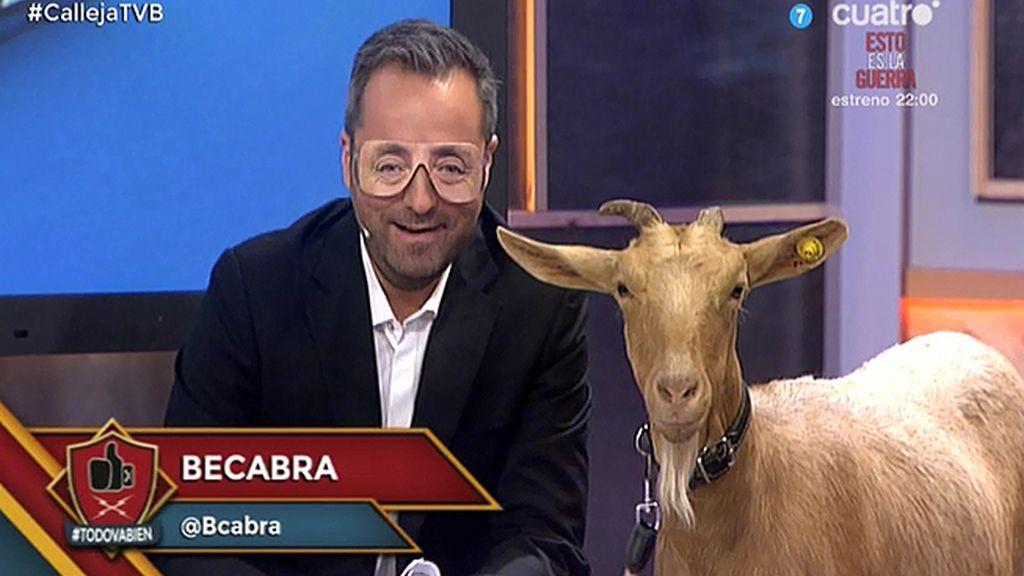 """Pedrerol y su cabra becaria: """"Becabra"""""""