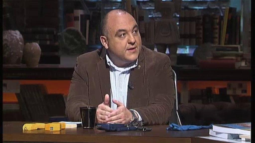 """Luis Alamancos, perito: """"La radiación es cuatro veces superior a la de Palomares"""""""