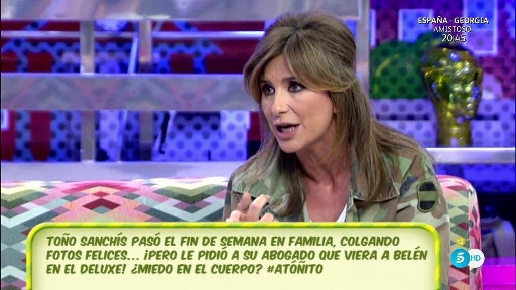 """Gema López, sobre Toño Sanchís: """"Un mensaje le puede librar de algo o le puede traer muchas consecuencias"""""""