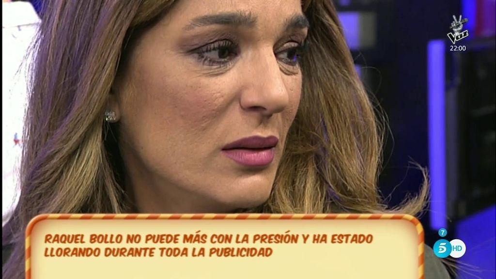 Raquel Bollo, molesta porque los colaboradores creen que ha cambiado de actitud tras su reencuentro con Pantoja