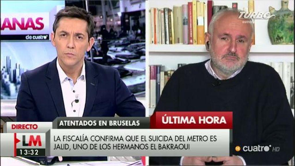 """Florentino Portero: """"Es muy posible que hayan decidido adelantar el atentado"""""""