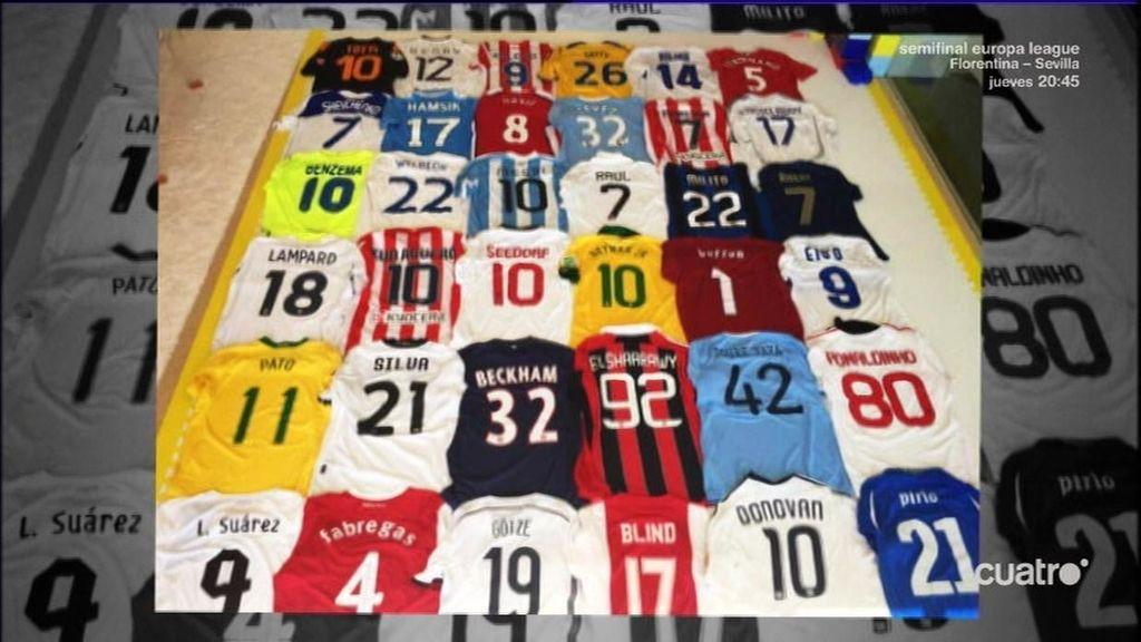 b986268cb La colección de camisetas de Piqué que todo el mundo envidia: Raúl ...