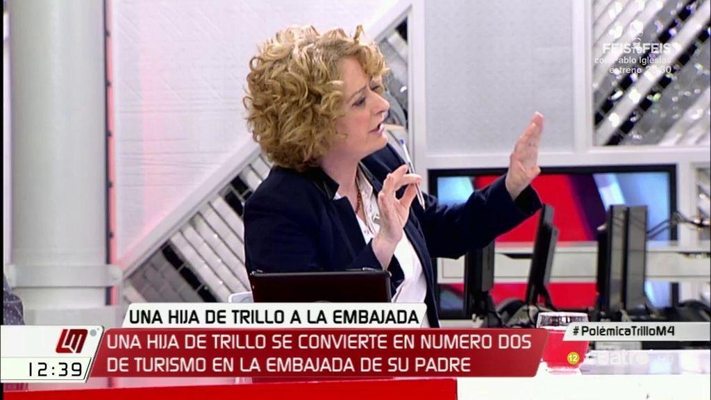 La hija de Federico Trillo, nombrada número dos de Turismo en la embajada de Londres, según publica Alicia Gutiérrez en 'Infolibre'