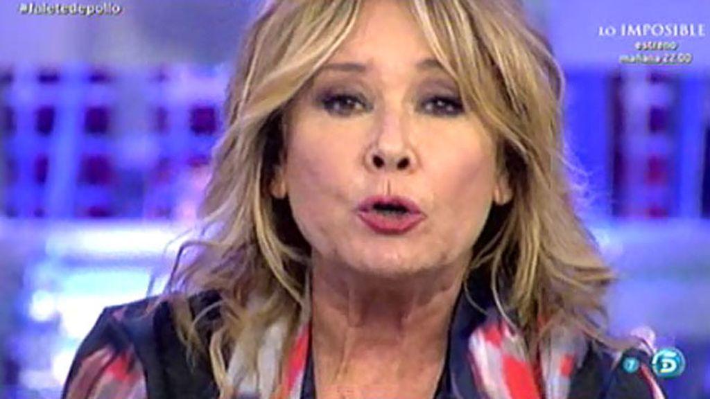 """Mila Ximénez, a Falete: """"Voy a llegar al millón de firmas contra ti"""""""