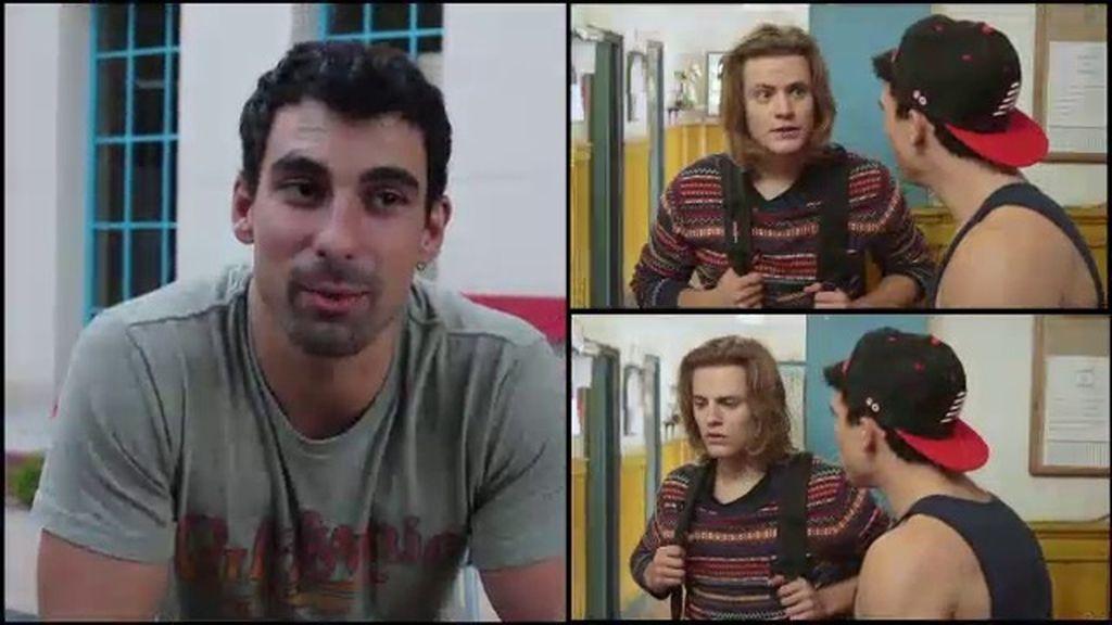 """Christian Sánchez: """"Me gustó ver cómo Diego quería proteger a Lana"""""""