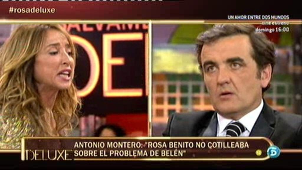 """María Patiño se enzarza con Montero: """"A Rosa Benito le importa el dinero"""""""