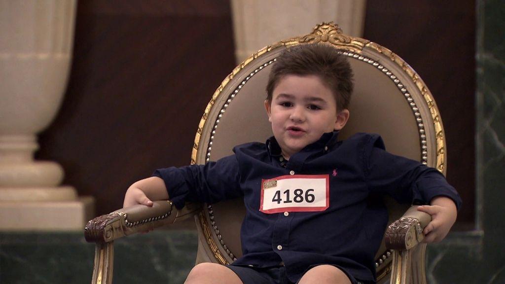 """Juan Daniel, 4 años: """"Cuando tenía 3 años no tenía genio pero, ahora, sí"""""""