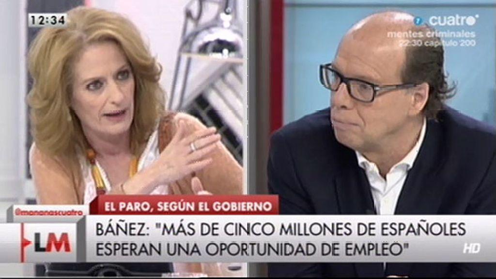 "A. Gutiérrez, a J. González: ""¿Apocalíptico es la moda que va a sustituir a demagogo?"""