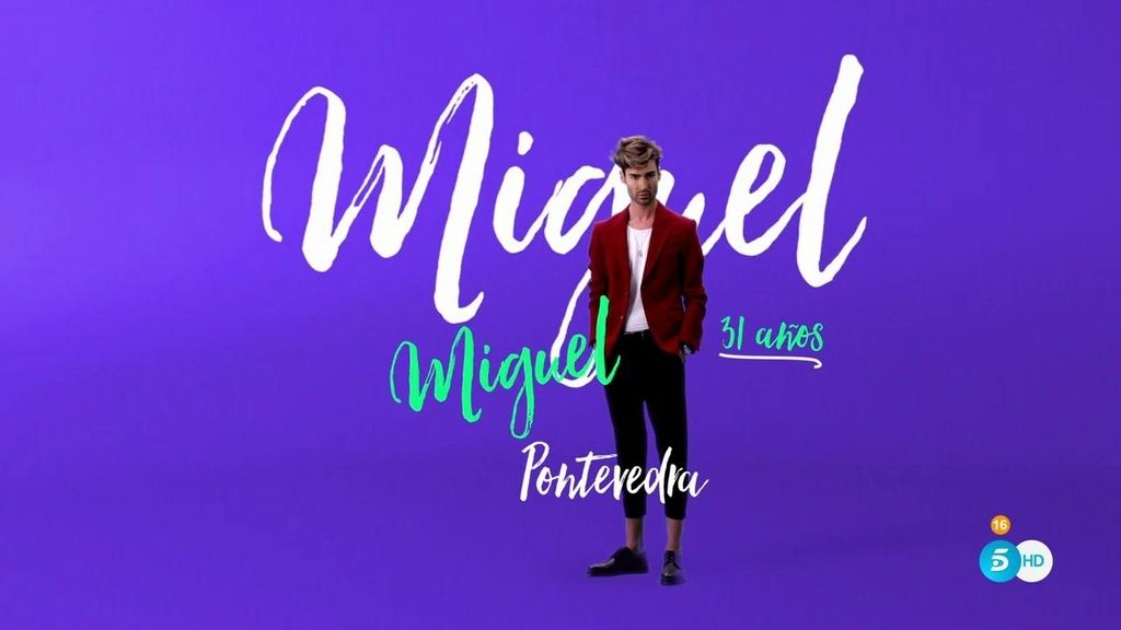"""Miguel: """"Soy un chico de mentira, me gusta jugar con la ilusión óptica de las personas"""""""