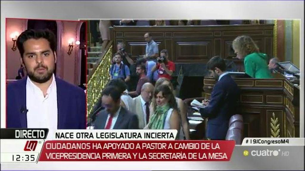 """Fernando de Páramo: """"Si el PSOE sigue así, habrá nuevas elecciones"""""""