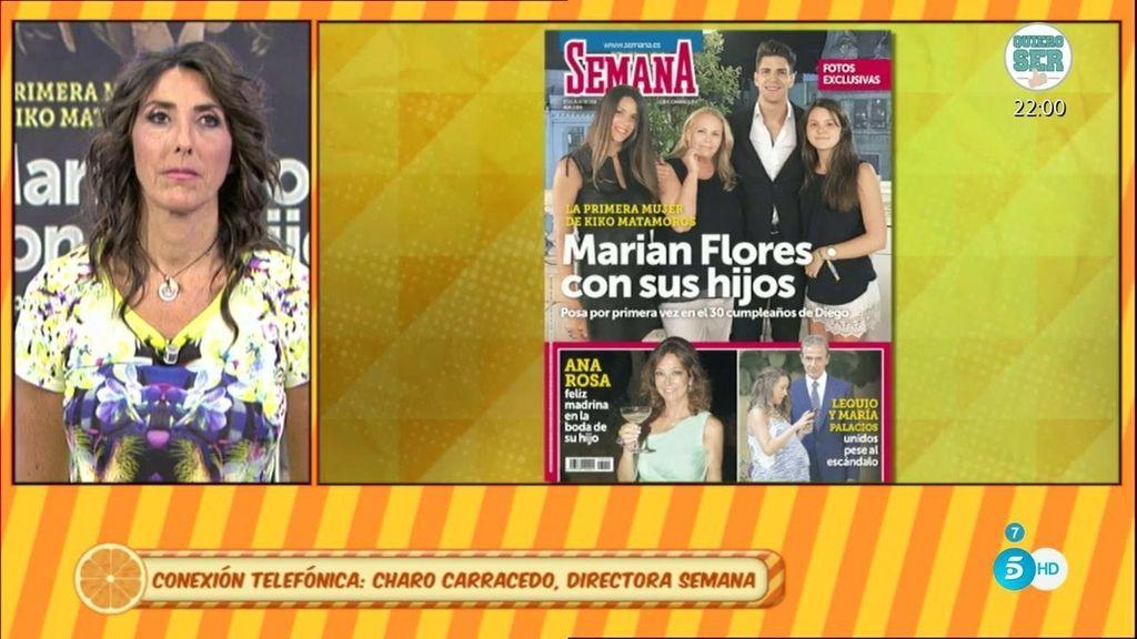 La directora de 'Semana' niega que Diego M. haya cobrado por la foto de su familia