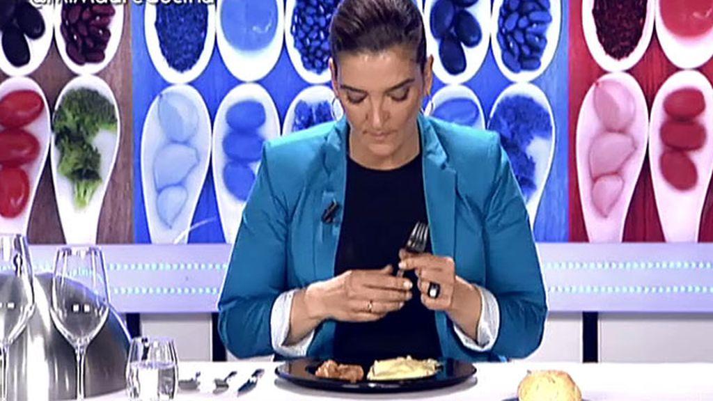 """Mª Jiménez Latorre, sobre la lasaña: """"Una imagen vale más que mil palabras"""""""