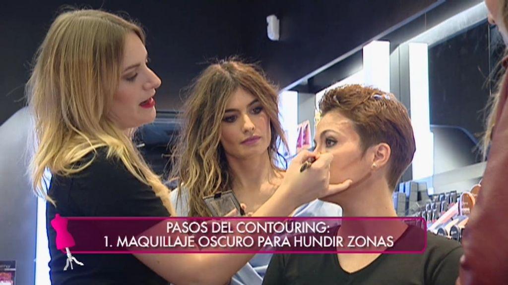 Cómo hacer un maquillaje con 'contouring' en 5 minutos con tres sencillos pasos