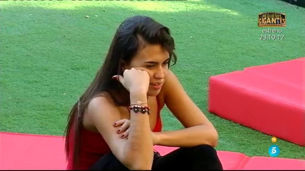 """Sofía: """"Tendré que asumir que voy a ver a Raquel y a Suso comerse la boca"""""""