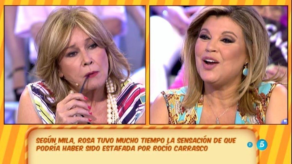"""Mila Ximénez: """"Rosa Benito habría pensado en demandar a Rocío Carrasco"""""""