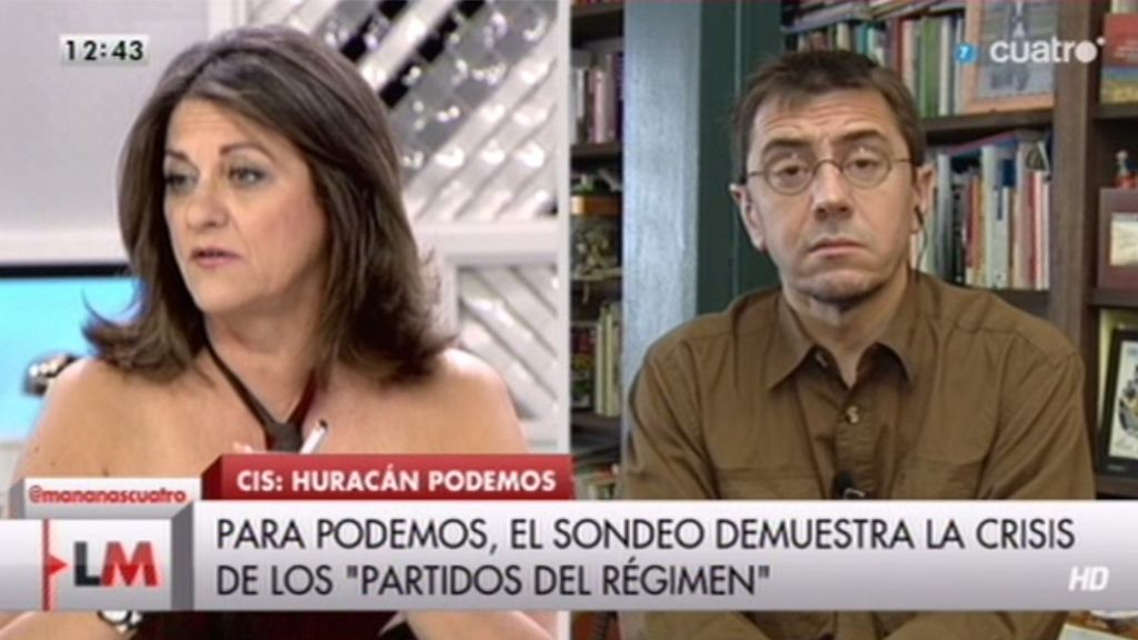 María Antonia Trujillo: 'No soy partidaria del bipartidismo y la irrupción de 'Podemos' es buena para el país'