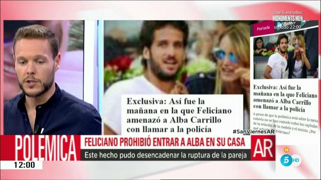 """Jano: """"Feliciano le impidió la entrada a Alba y amenazó con llamar a la policía"""""""
