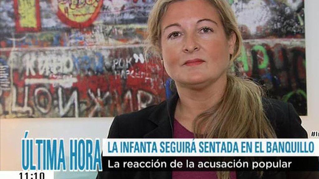"""Virginia López Negrete: """"Hoy se demuestra que la justicia es igual para todos"""""""