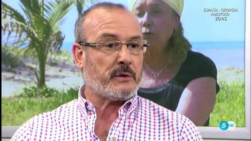 """Manolo Ximénez defiende a Mila: """"El miedo es la excusa de los incompetentes"""""""
