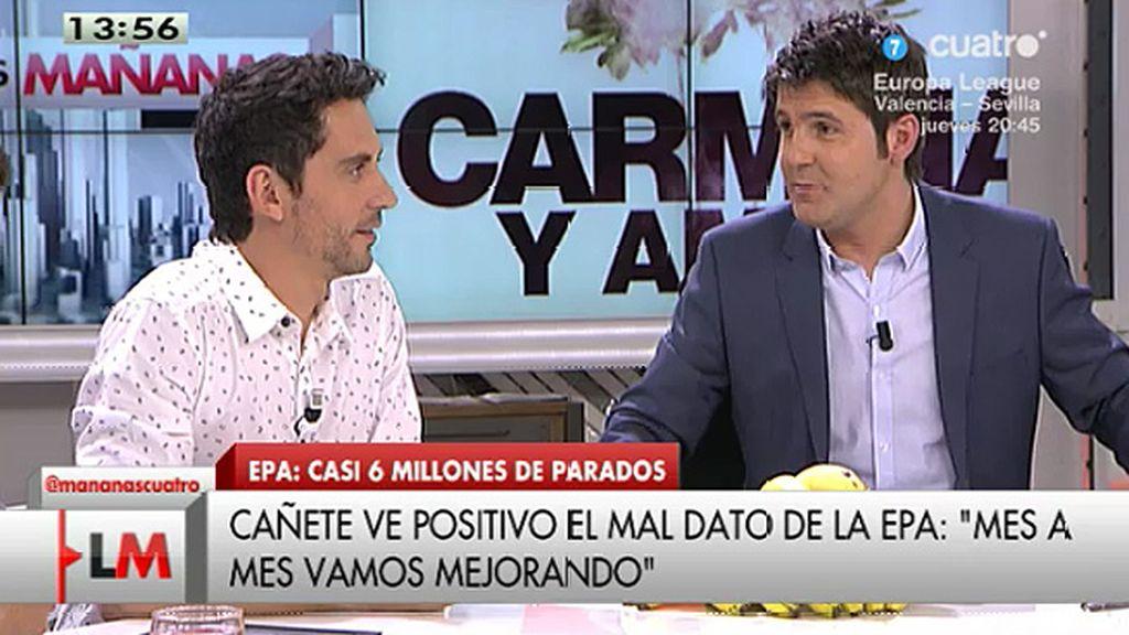 """Paco León, tras las palabras de Cañete: """"Como cómicos no tienen precio"""""""