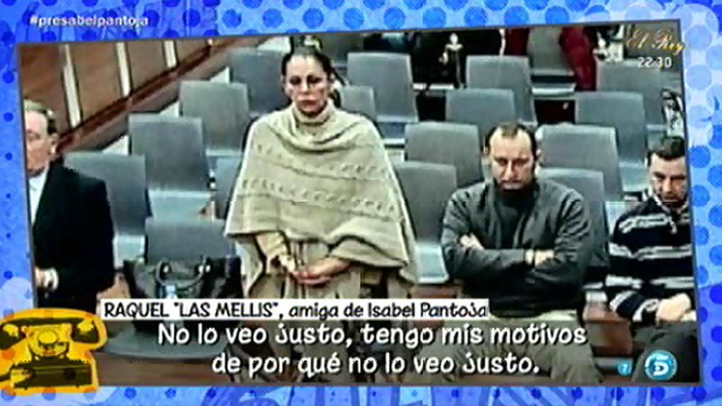 """Raquel, de 'Las Mellis', sobre Pantoja: """"Es imposible hablar con ella"""""""