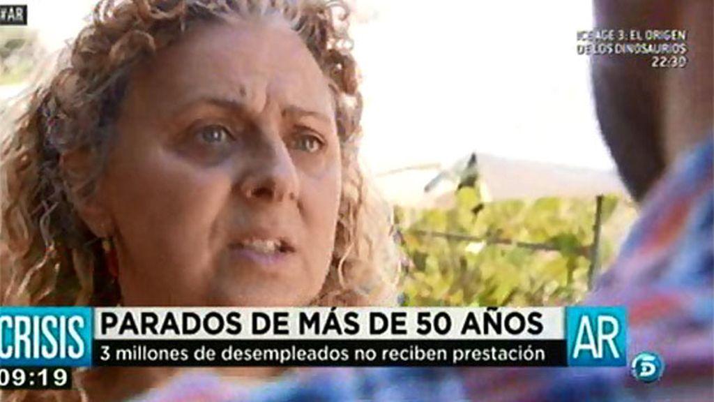 """Nines, 57 años: """"No tengo ninguna expectativa para encontrar ningún trabajo"""""""