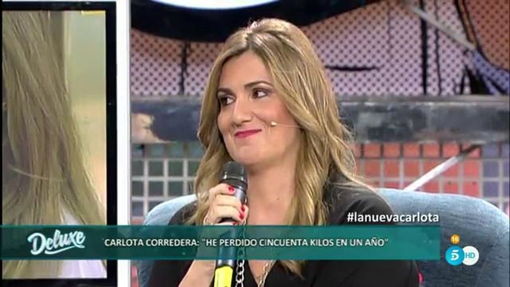 """Carlota: """"Para mí fue muy importante que Telecinco me dejara presentar con mi peso"""""""