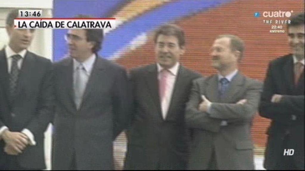 Calatrava, imputado por el Centro de Convenciones de Castellón que no se hizo