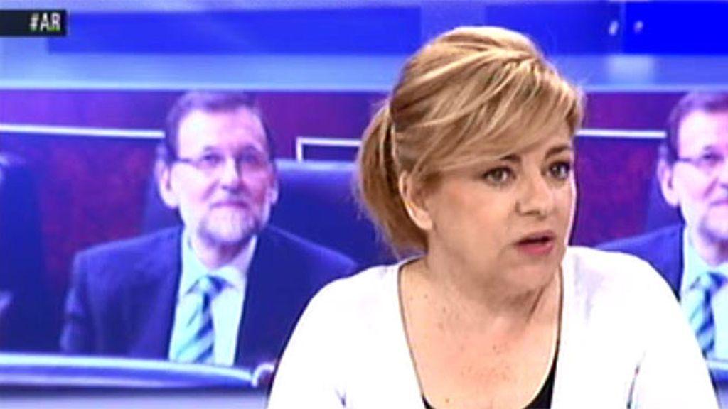"""Elena Valenciano: """"Rajoy no hace política porque todo lo que le parece un lío lo va orillando"""""""