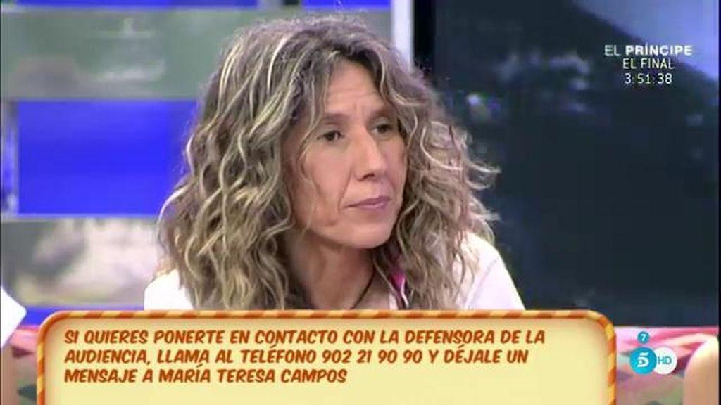Mª Ángeles Benítez critica la forma en que Manuel Díaz intentó conseguir la prueba de paternidad de 'El Cordobés'