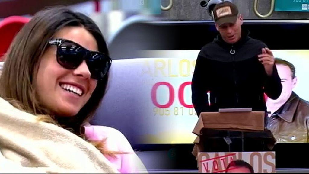Laura y Carlos se escriben un discurso de final de campaña 'envenenado'