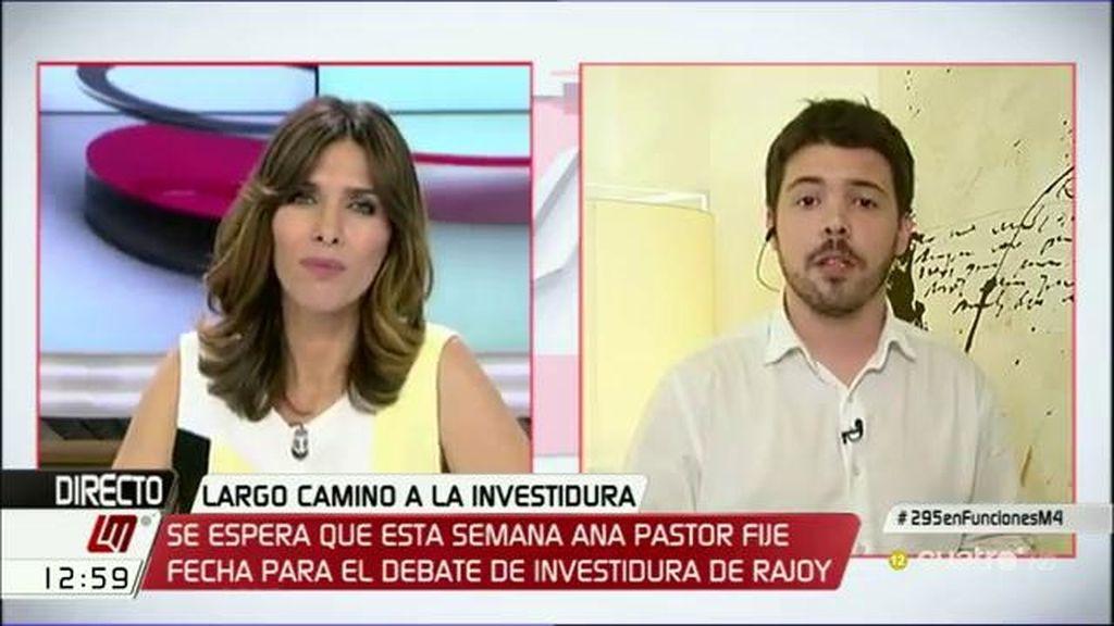 """Nacho Corredor, sobre las condiciones de C's: """"El PP va a decir que sí"""""""