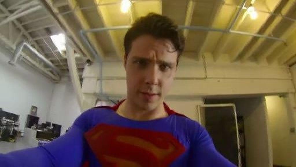 A vista de Superman