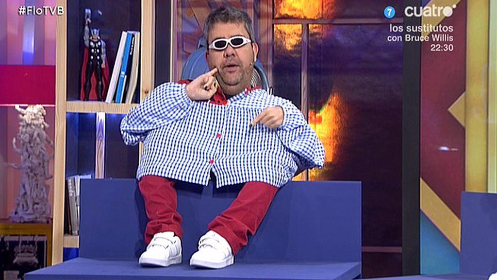 MiniFlo Fernández se una a la pandilla de los niños repelentes de 'Todo va bien'