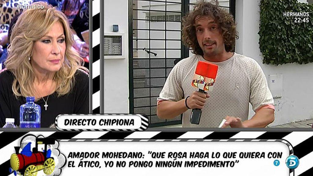 """Jose Antonio León: """"Amador Mohedano ha denunciado al prestamista"""""""