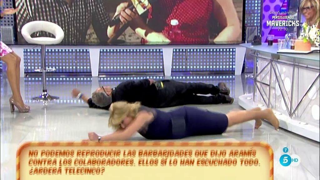 Kiko Hernández y Mila Ximénez le dedican una croqueta a Aramis Fuster